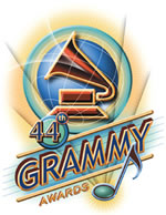 The date and venue for the 44th Grammy Awards has been announced
